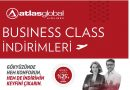 Atlas Global'de BUSINESS CLASS %25'e Varan İndirimler!