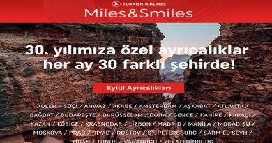 Miles&Smiles 30. Yıla Özel 30 Şehir Kampanyası